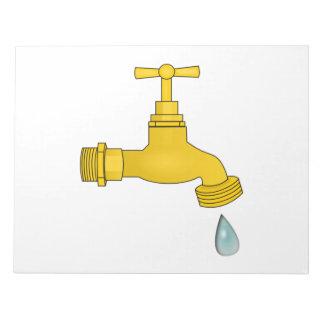 Water Spigot Memo Pad