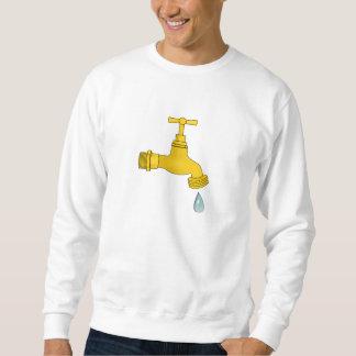 Water Spigot Pull Over Sweatshirts