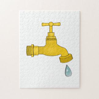 Water Spigot Jigsaw Puzzle
