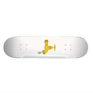 Water Spigot Skate Deck