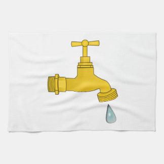 Water Spigot Hand Towels