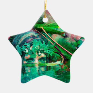 WATER SPIRIT CERAMIC STAR DECORATION
