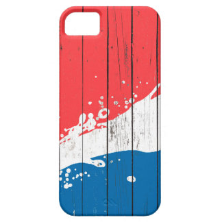 Water Splash Art On Wooden Pattern,Wood Pattern iPhone 5 Covers