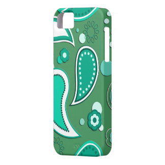 Water Splash Pattern on editable background colour iPhone 5 Cover