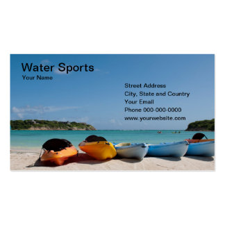 Water Sports Business Card Business Card Template