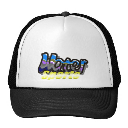 water sports mesh hats