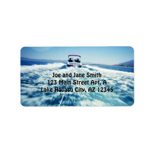 Water Sports Label Address Label