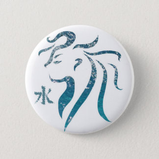 Water Sprite 6 Cm Round Badge