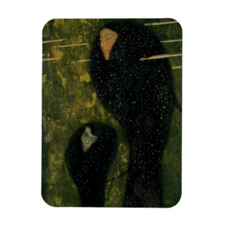 Water Sprites, 1899 (oil on canvas) Rectangle Magnets