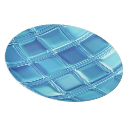 Water Squared customisable glass tile plate