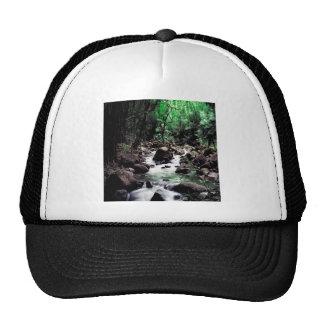Water Stream Hawaii Hats