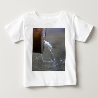 Water stream on  a well baby T-Shirt