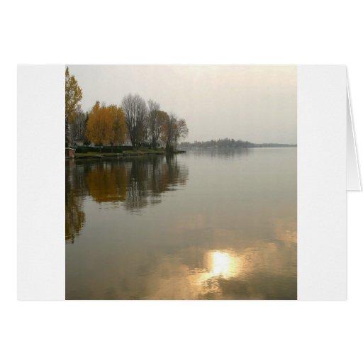 Water Summer Break Reflection Card