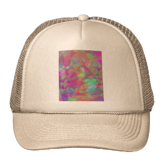 Water Surface Red Trucker Hat
