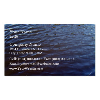Water Surface Texture Business Card