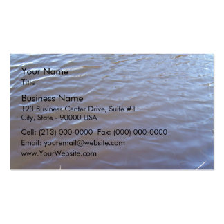 Water Surface Texture Pack Of Standard Business Cards