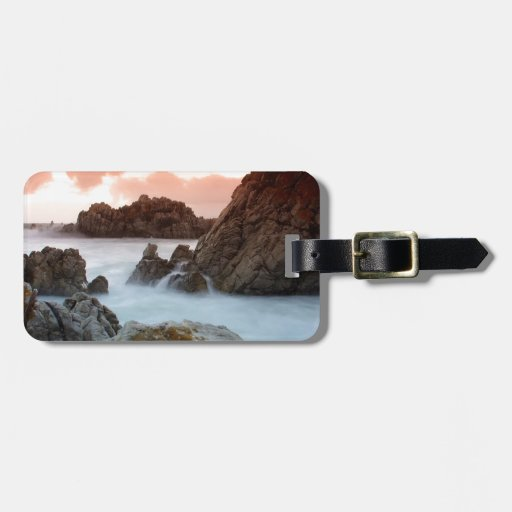 Water Surreal Sundown South Africa Travel Bag Tag