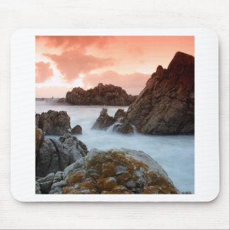 Water Surreal Sundown South Africa Mouse Pads
