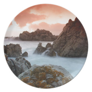 Water Surreal Sundown South Africa Party Plates