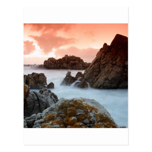 Water Surreal Sundown South Africa Postcards