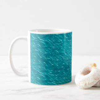 Water Texture Aesthetic Coffee Mug