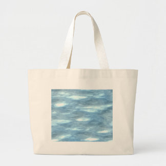 Water texture large tote bag