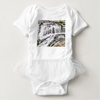 water texture scene baby bodysuit