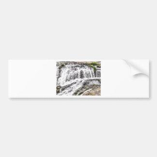water texture scene bumper sticker