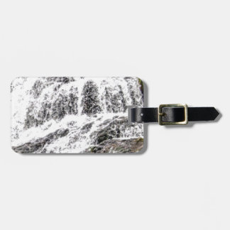 water texture scene luggage tag
