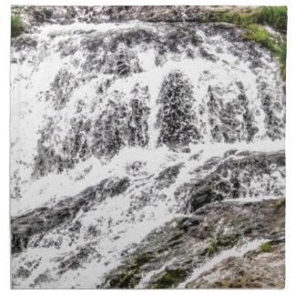 water texture scene napkin