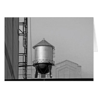 Water Tower - Chelsea, NYC Card