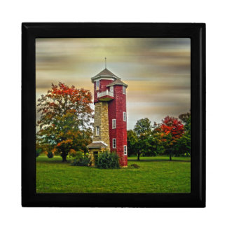 Water Tower Large Square Gift Box