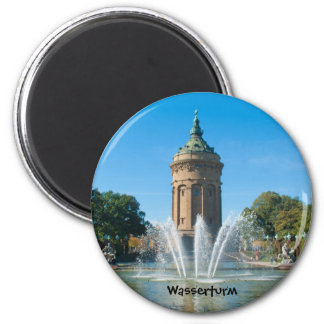 Water tower magnet