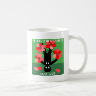 water twice a day... then occupy wall street basic white mug