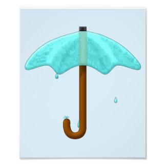 Water Umbrella - photo print