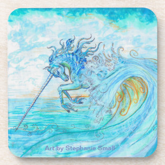 Water Unicorn Coasters