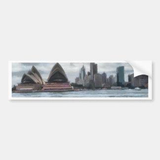 Water view of Sydney Bumper Sticker