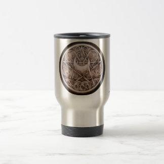 Water, Vines, and Moon Pentacle Travel Mug