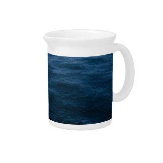 water waves beverage pitcher
