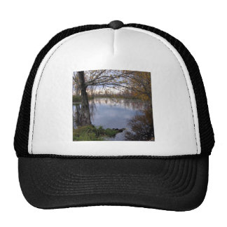 Water Wetland Woods Mesh Hats