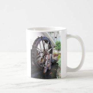 water wheel coffee mug