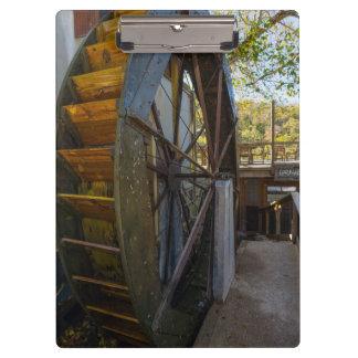 Water Wheel Dawt Mill Clipboard