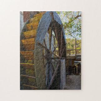 Water Wheel Dawt Mill Jigsaw Puzzle