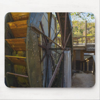 Water Wheel Dawt Mill Mouse Pad