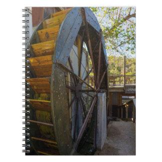 Water Wheel Dawt Mill Notebook