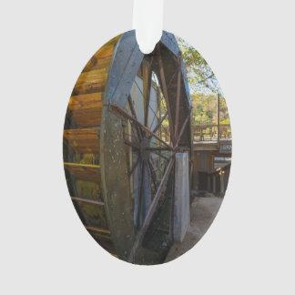 Water Wheel Dawt Mill Ornament