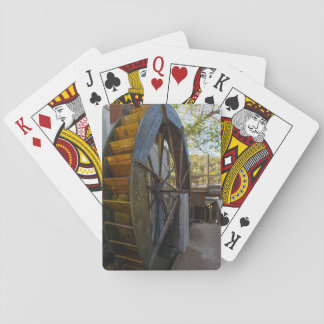 Water Wheel Dawt Mill Playing Cards