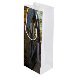 Water Wheel Dawt Mill Wine Gift Bag