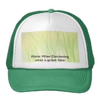Water-Wise Gardening Cap