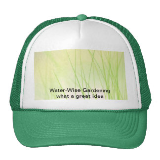 Water-Wise Gardening Hat